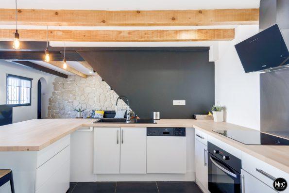 r novation int rieure style industriel d 39 une maison par l 39 agence mrc. Black Bedroom Furniture Sets. Home Design Ideas